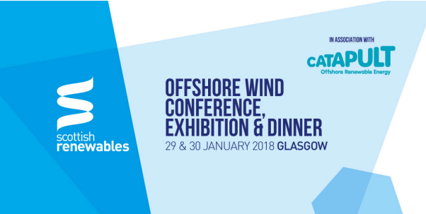 Scottish Renewables Offshore Wind Conference, Exhibition & Dinner 2018