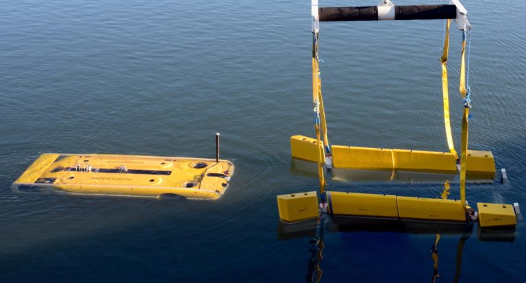 Modus Seabed Intervention's innovative AUV docking station undergoes trials.