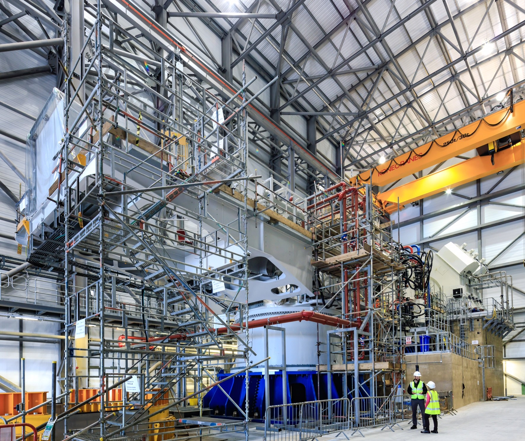 ORE Catapult's 15MW Powertrain Test Facility at the National Renewable Energy Centre in Blyth.