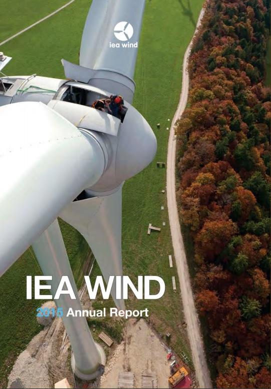 IEA Wind Annual Report 2015